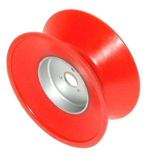 Power lift wheel urethane